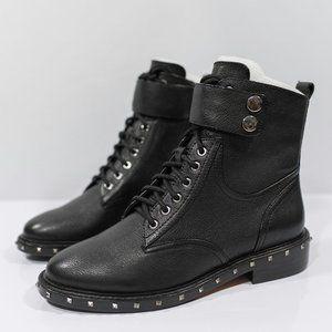 Vince Camuto Talorini Leather Studded Boot